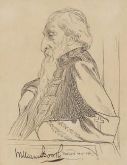 William Booth, by Stephen Reid, 1906 - NPG 2275 - © National Portrait Gallery, London
