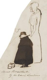 Joseph Boruwlaski, by Edwin Landseer - NPG 3097(8)