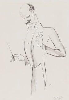 Sir Adrian Boult, by Edmond Xavier Kapp - NPG 5130