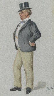 Henry Lorton Bourke, by Sir Francis Carruthers Gould ('F.C.G.') - NPG 3276