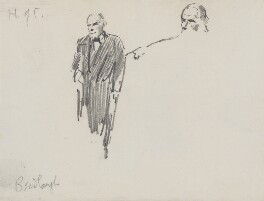 Charles Bradlaugh, by Sydney Prior Hall,  - NPG 2313 - © National Portrait Gallery, London