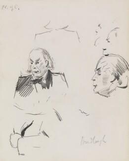 Charles Bradlaugh, by Sydney Prior Hall,  - NPG 2314 - © National Portrait Gallery, London
