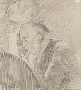 Charles Bradlaugh, by Walter Richard Sickert, 1890 - NPG 2206 - © National Portrait Gallery, London