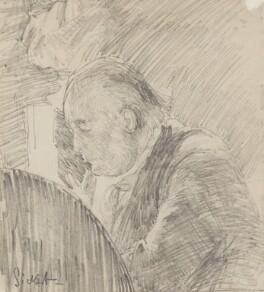 Charles Bradlaugh, by Walter Richard Sickert, 1890 - NPG 2206 - © National Portrait Gallery, London