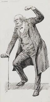Charles Bradlaugh, by Harry Furniss, 1880s-1900s - NPG 3555 - © National Portrait Gallery, London