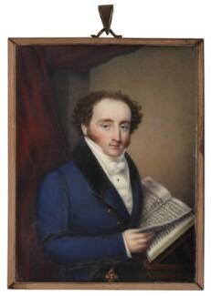 John Braham, by Unknown artist - NPG 1870
