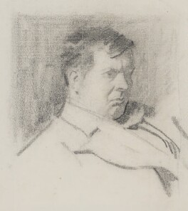 Sir Frank Brangwyn, by Phil May - NPG 4057