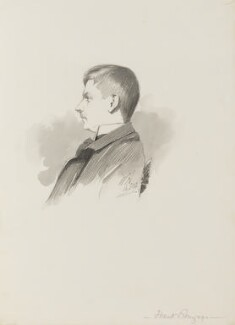 Sir Frank Brangwyn, by Walker Hodgson - NPG 4041(5)