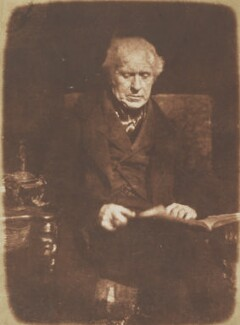 Sir David Brewster, by David Octavius Hill, and  Robert Adamson - NPG P6(10)