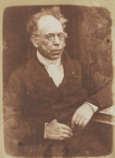 James Brewster, by David Octavius Hill, and  Robert Adamson - NPG P6(54)