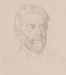 Robert Bridges, by William Strang, engraved 1898 - NPG 2773 - © National Portrait Gallery, London