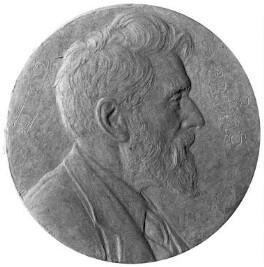 Robert Bridges, by Theodore Spicer-Simson - NPG 2044