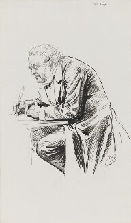 John Bright, by Harry Furniss - NPG 3345