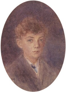 Benjamin Britten, by Sarah Fanny Hockey, circa 1920 - NPG 5137 - © National Portrait Gallery, London