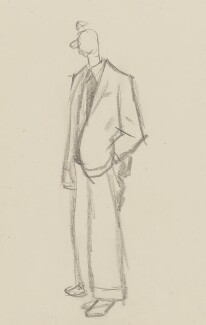 Benjamin Britten, by Sir David Low, 1952 or before - NPG 4529(59) - © Solo Syndication Ltd