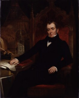 John Britton, by John Wood, 1845 - NPG 667 - © National Portrait Gallery, London