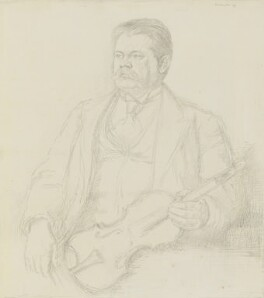 Adolf Brodsky, by William Rothenstein - NPG 4766