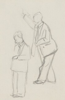 Peter Brook, by Sir David Low - NPG 4529(66)
