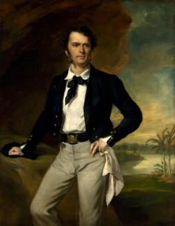 Sir James Brooke, by Sir Francis Grant - NPG 1559