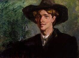 Rupert Brooke, by Clara Ewald - NPG 4911