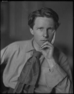 Rupert Brooke, by Sherrill Schell - NPG P101(e)