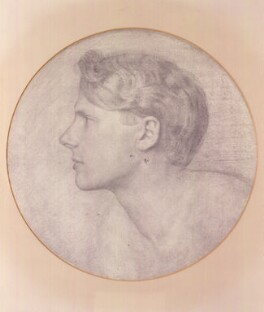 Rupert Brooke, by James Havard Thomas, after a photograph by  Sherrill Schell - NPG 2448