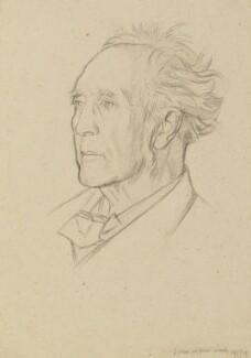 Stopford Augustus Brooke, by William Rothenstein - NPG 4767
