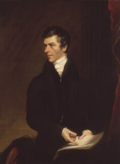 Henry Brougham, 1st Baron Brougham and Vaux, replica by James Lonsdale, 1821 - NPG 361 - © National Portrait Gallery, London