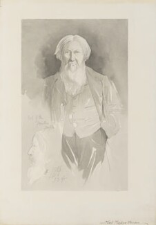 Ford Madox Brown, by Walker Hodgson - NPG 4041(4)