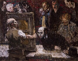 The Selecting Jury of the New English Art Club, 1909, by Sir William Orpen - NPG 2556