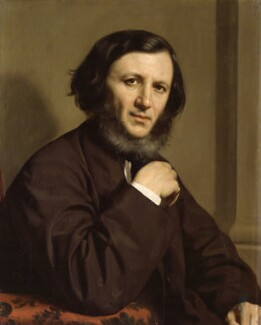 Robert Browning, by Michele Gordigiani, 1858 - NPG 1898 - © National Portrait Gallery, London