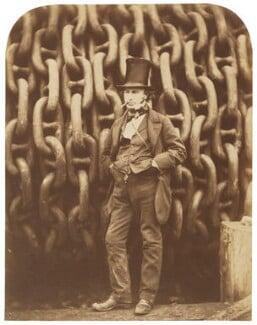 Isambard Kingdom Brunel, by Robert Howlett, November 1857 - NPG P112 - © National Portrait Gallery, London