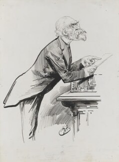 James Bryce, 1st Viscount Bryce, by Harry Furniss, 1880s-1900s - NPG 3425 - © National Portrait Gallery, London