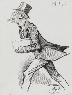 James Bryce, 1st Viscount Bryce, by Harry Furniss - NPG 3557