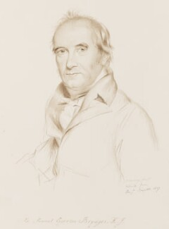 Sir Samuel Egerton Brydges, 1st Bt, copy by George Perfect Harding, after  Benjamin Burnell - NPG 2394