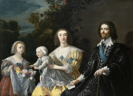 The Duke of Buckingham and his Family, after Gerrit van Honthorst - NPG 711