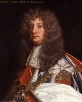 George Villiers, 2nd Duke of Buckingham, by Sir Peter Lely, circa 1675 - NPG  - © National Portrait Gallery, London