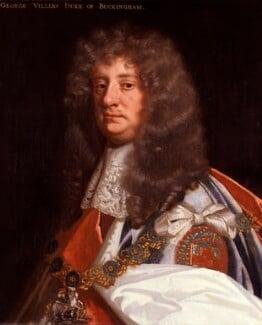 George Villiers, 2nd Duke of Buckingham, by Sir Peter Lely, circa 1675 - NPG 279 - © National Portrait Gallery, London