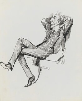 Stanley Owen Buckmaster, 1st Viscount Buckmaster, by Harry Furniss - NPG 3426