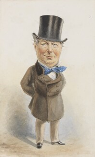 John Baldwin Buckstone, by Alfred Bryan - NPG 3071