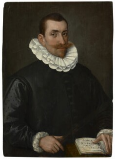 Unknown man, formerly known as John Bull, by Unknown artist, circa 1600-1620 - NPG  - © National Portrait Gallery, London