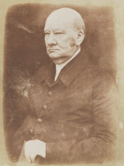 Jabez Bunting, by David Octavius Hill, and  Robert Adamson - NPG P6(47)