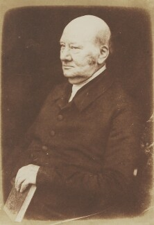 Jabez Bunting, by David Octavius Hill, and  Robert Adamson - NPG P6(46)