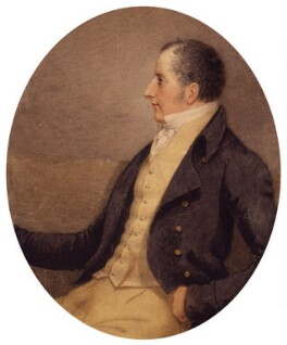 Sir Francis Burdett, 5th Bt, by Adam Buck - NPG 1229