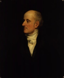 Sir Francis Burdett, 5th Bt, by Thomas Phillips - NPG 34