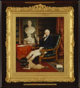 Sir Francis Burdett, 5th Bt, by Sir William Charles Ross - NPG 2056