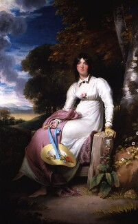 Sophia, Lady Burdett, by Sir Thomas Lawrence - NPG 3821