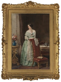Angela Burdett-Coutts, Baroness Burdett-Coutts, by Sir William Charles Ross - NPG 2057