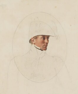 Sir John Fox Burgoyne, 1st Bt, by Thomas Heaphy - NPG 1914(5)