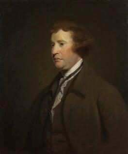 Edmund Burke, studio of Sir Joshua Reynolds, circa 1769 or after - NPG 655 - © National Portrait Gallery, London